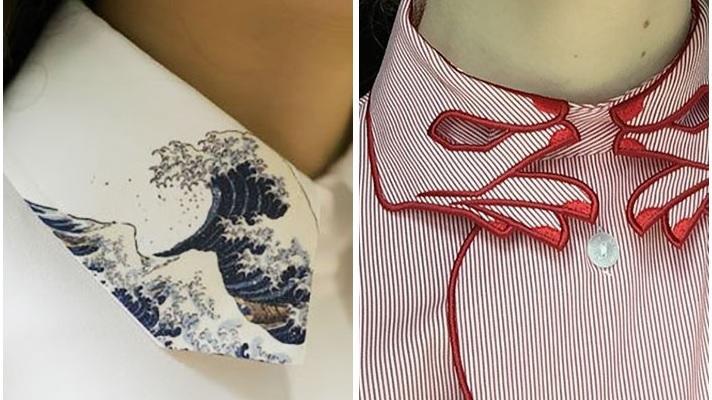 ボタンを一番上までしっかり留めたくなる!? とってもクリエイティブな襟を持つ海外のシャツ・ブラウス7選