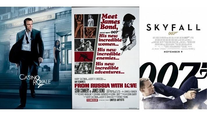 『007』シリーズ、人気作品トップ3と全ランキング発表! 年末年始に一挙放映も ~BS10 スターチャンネル調べ