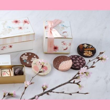 ホワイトデーのギフトにもぴったり♪ 春を彩る桜のショコラや新作スイーツが登場 ~ベルアメール